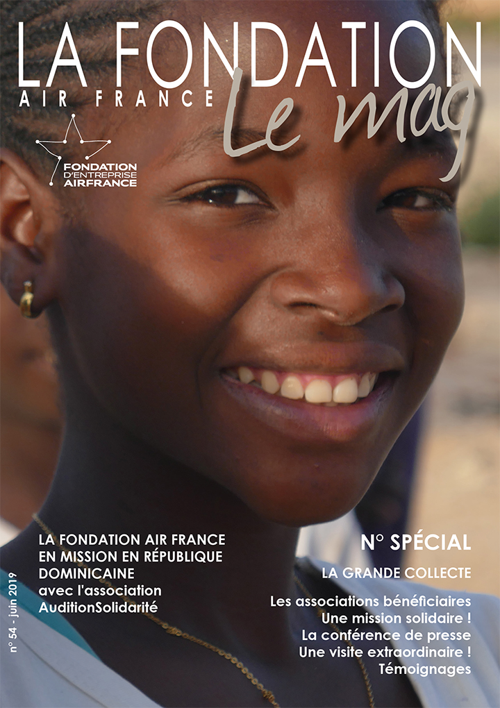 magazine air france fondation juin 2019